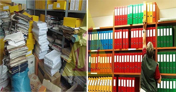 lưu trữ file hồ sơ tài liệu