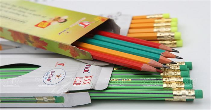 bút chì cho bé chọn