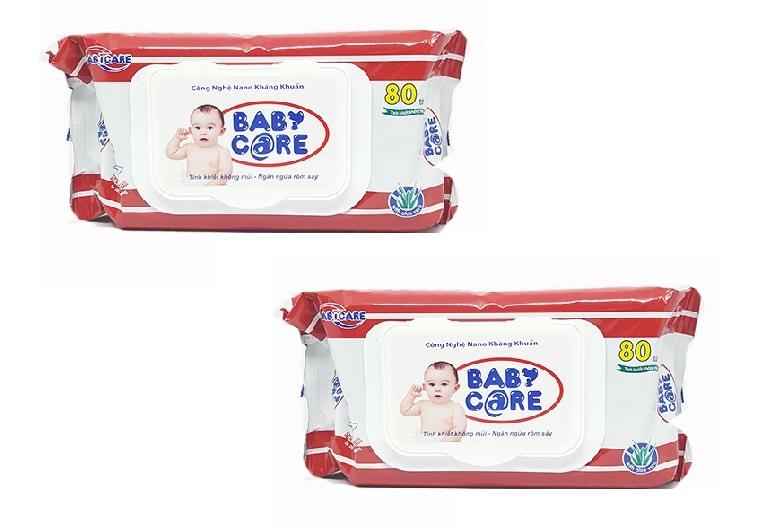 Khăn giấy ướt Baby Care