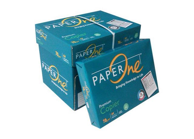 Giấy paper a4 one có độ trắng tự nhiên cùng chất lượng vượt trội