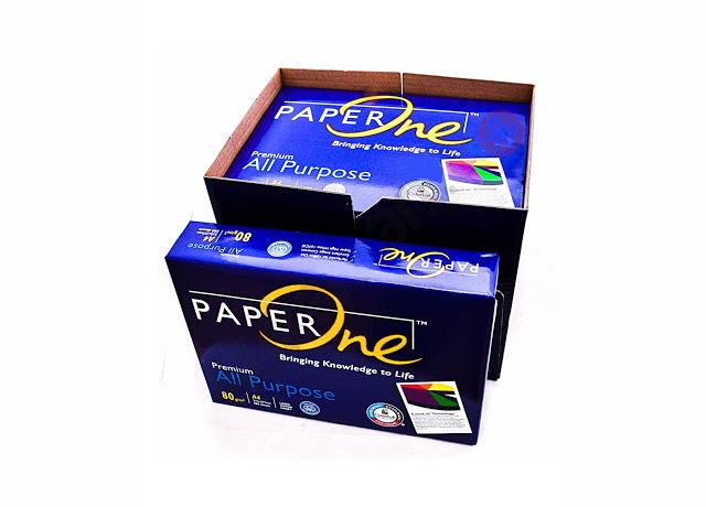giấy a4 paper one được ưa chuộng trong giới  văn phòng và trường học