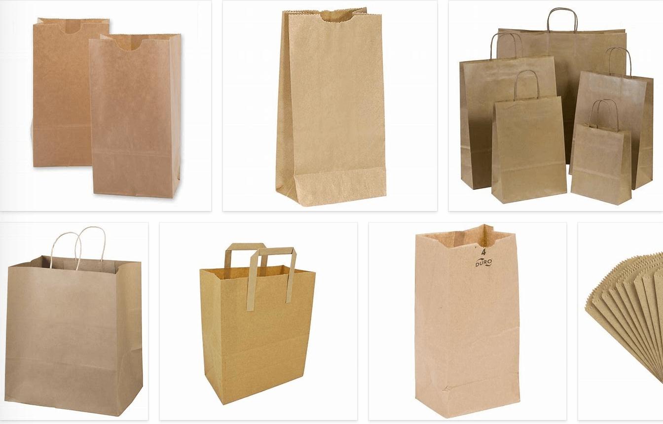Các loại túi giấy đơn giản