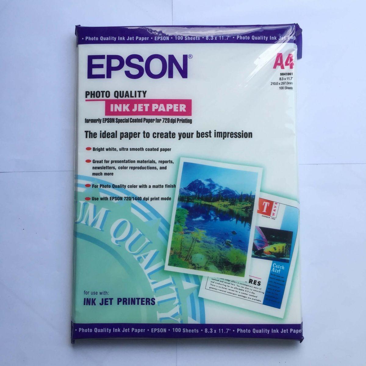 Giấy in hình ảnh Epson