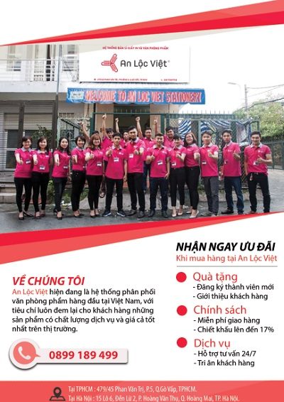 Những chính sách, dịch vụ thu hút khách hàng khi kinh doanh văn phòng phẩm tại Hà Nội 6