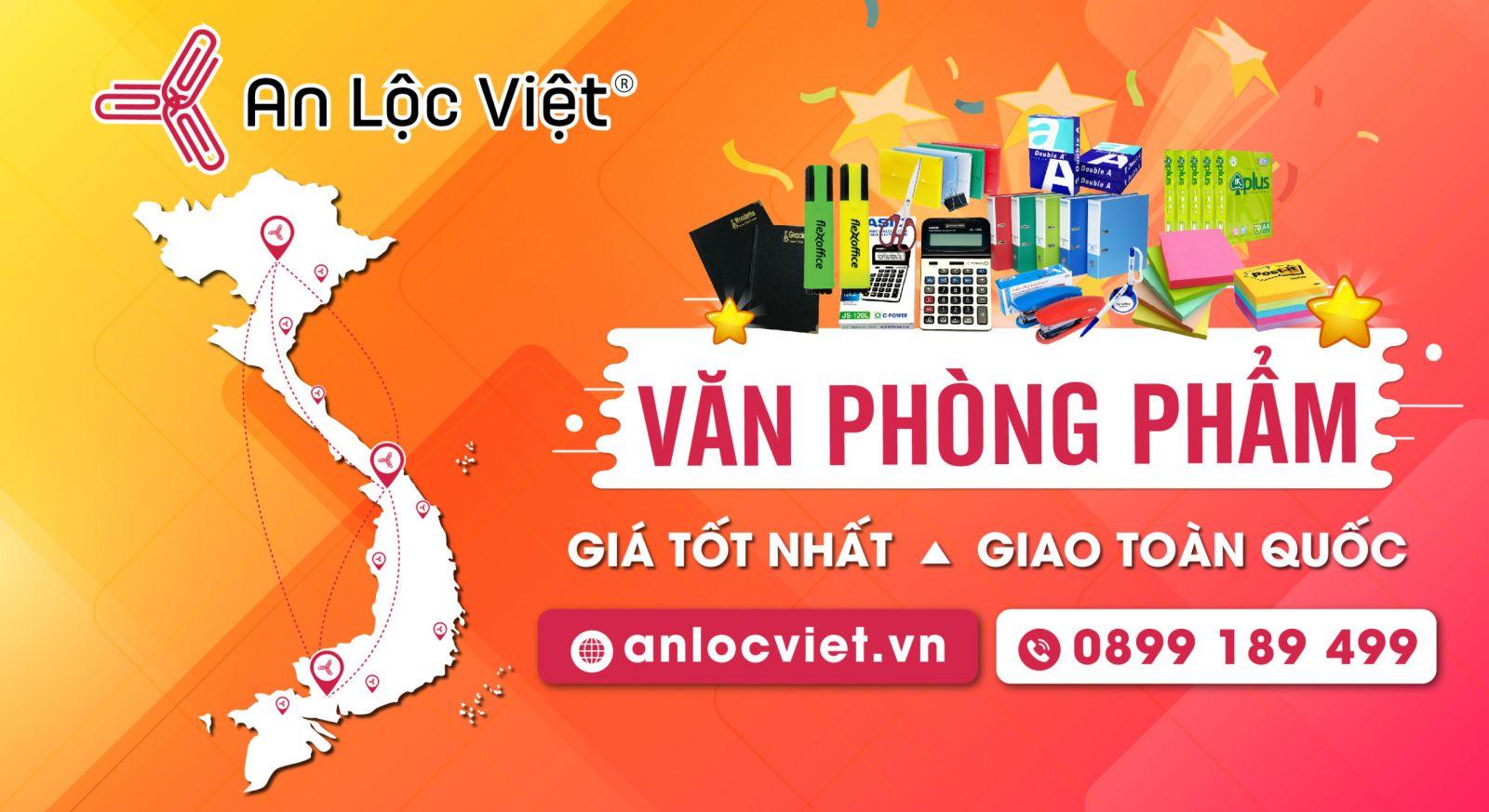 Mua văn phòng phẩm tại Hà Nội đến ngay An Lộc Việt