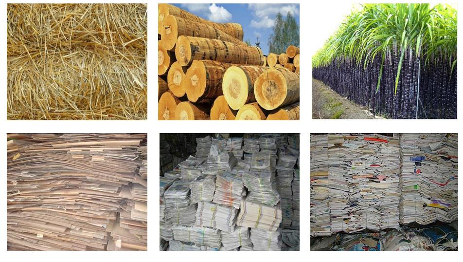Nguyên liệu để sản xuất giấy