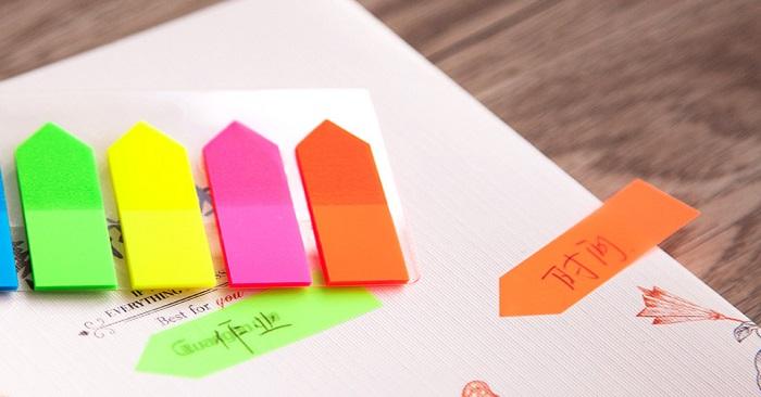 Phương pháp học tập với một xấp giấy ghi nhớ nhỏ?