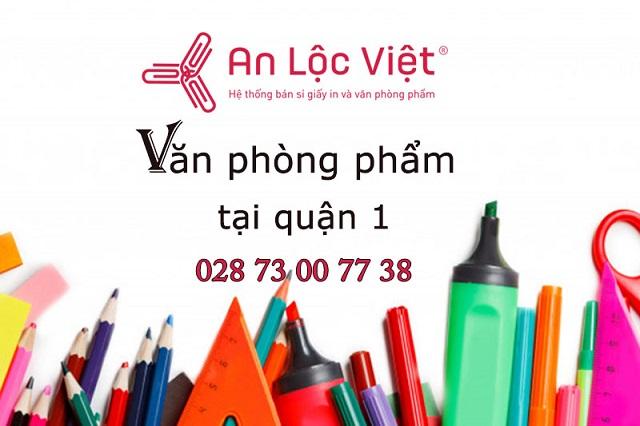 An Lộc Việt phân phối sỉ văn phòng phẩm quận 1