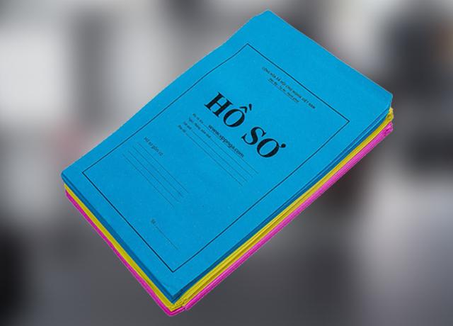 Bìa đựng hồ sơ đi xin việc