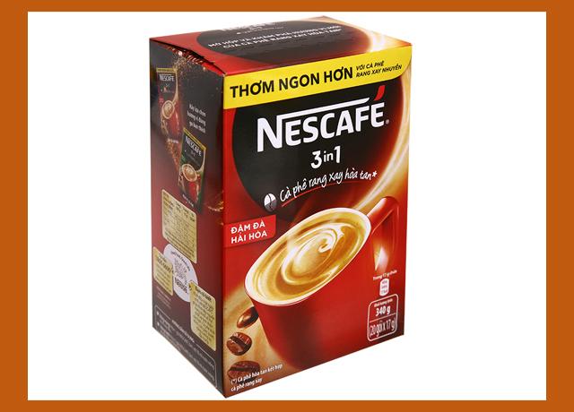 Nescafe đánh bay mệt mỏi sau những giờ làm việc