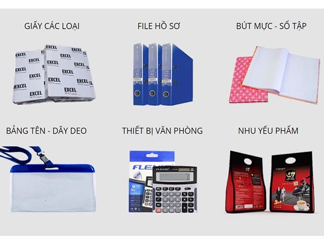 danh mục văn phòng phẩm đa dạng tại vpp An Lộc Việt Bắc Ninh