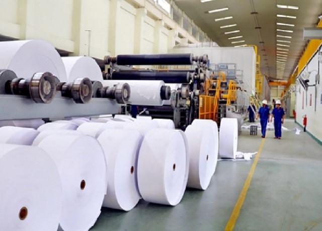Dây chuyền sản xuất giấy hiện đại, theo tiêu chuẩn quốc tế