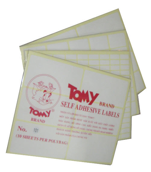 Decal Tomy A5