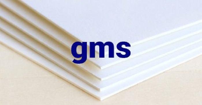 định lượng giấy in là gì