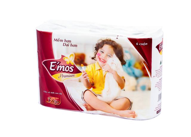 Giấy vệ sinh Emos tiện dụng cho cuộc sống hằng ngày