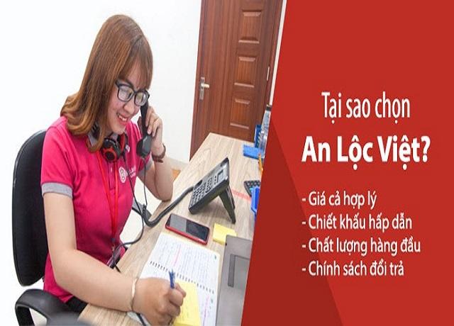 Nhân viên An Lộc Việt tư vấn bán hàng văn phòng phẩm ở Quận 5
