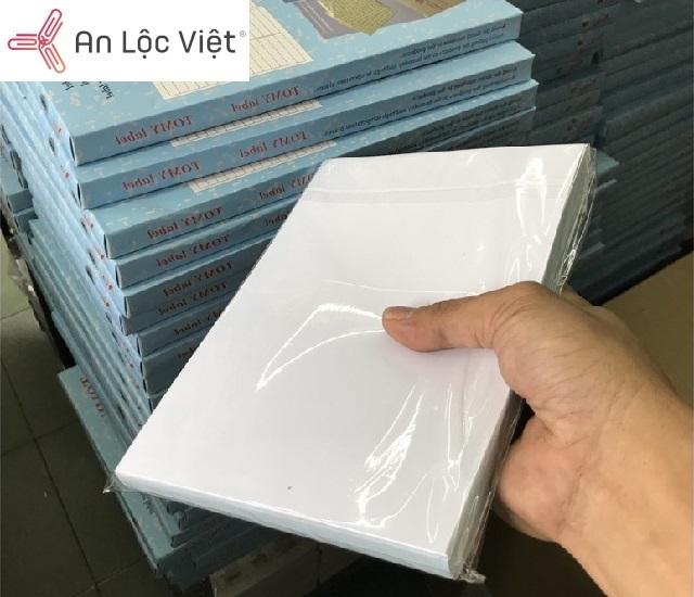 giấy decal khổ a5 tại vpp an lộc việt
