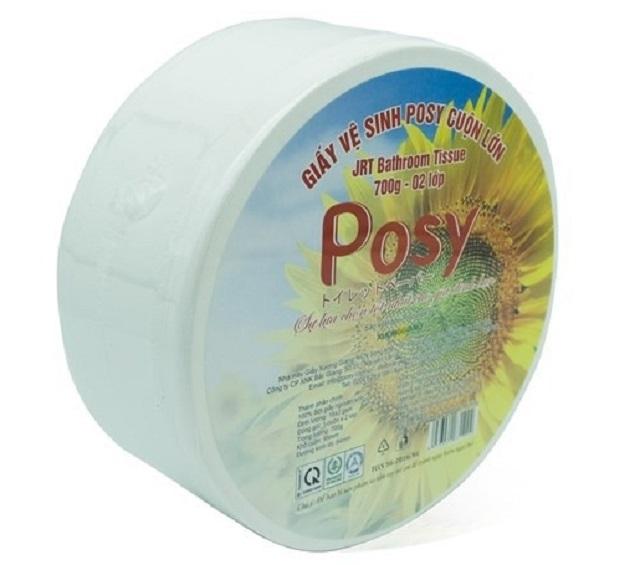 giấy vệ sinh cuộn lớn Posy