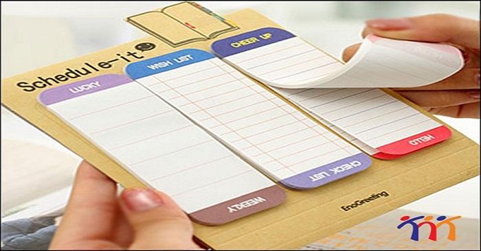 Xé giấy note như thế nào là đúng cách?
