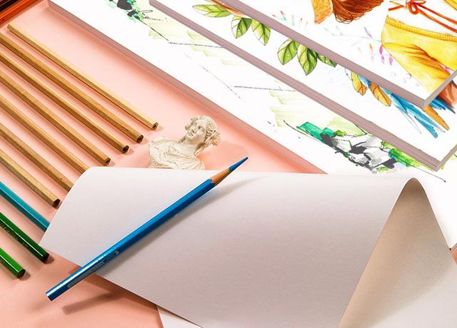 Giấy vẽ tranh thường dùng trong thiết kế, nghệ thuật