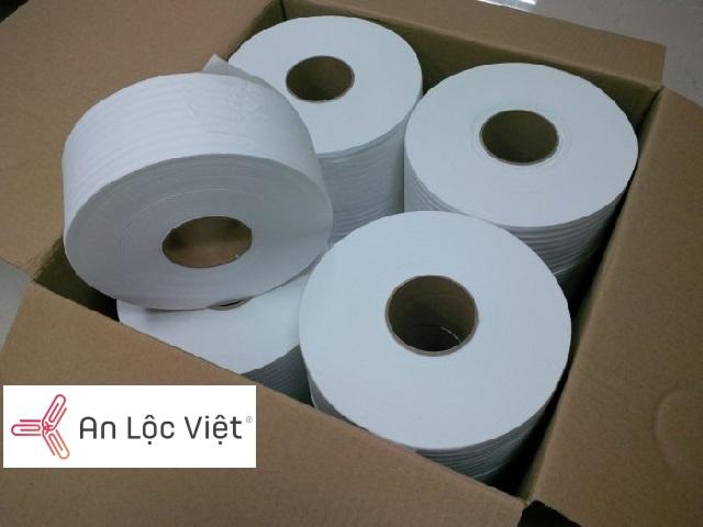 giấy vệ sinh cuộn công nghiệp