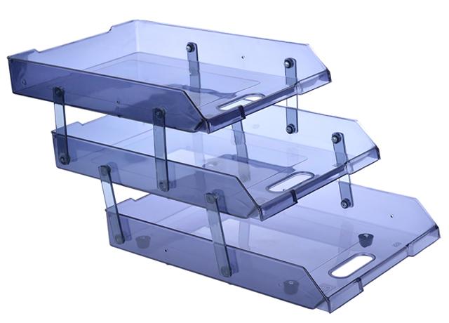 Kệ Mica a4 3 tầng giúp bạn sắp xếp các vật dụng thiết yếu