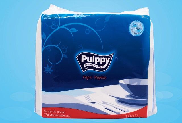 khăn giấy ăn Pulppy Paper Napkin