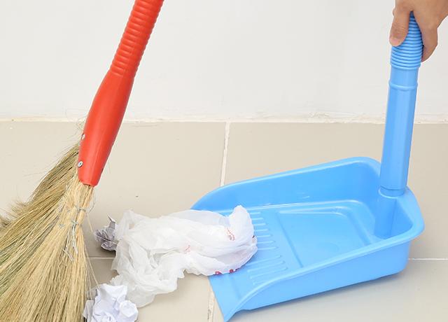 Ky hốt rác nhựa, tiện lợi sử dụng