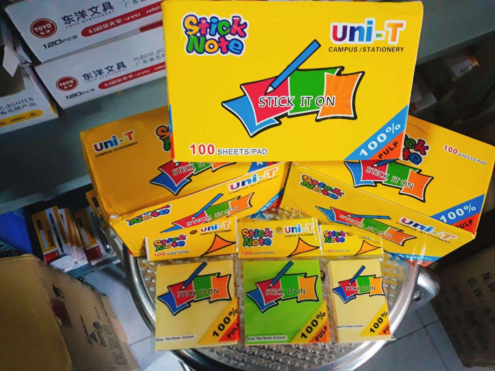 An Lộc Việt cung cấp các loại giấy note Uni-T