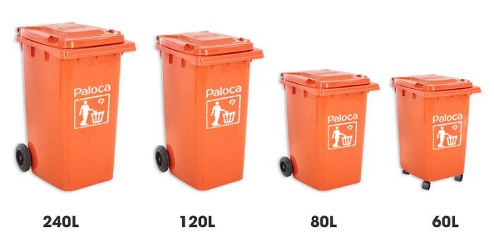 thùng rác paloca 120l