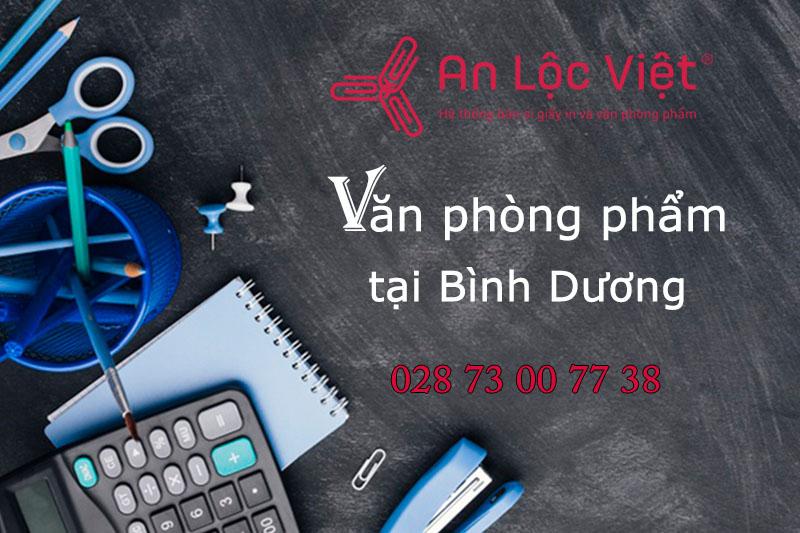 Hệ thống phân phối văn phòng phẩm Bình Dương - An Lộc Việt