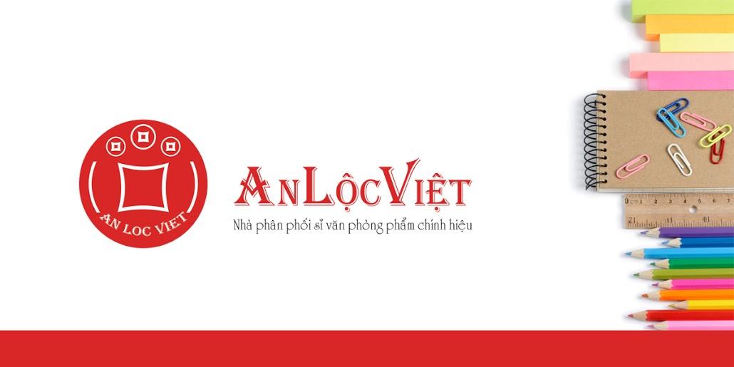 logo văn phòng phẩm anlocviet