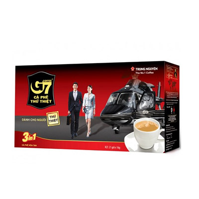 Cafe G7 3 in 1 21 gói x 16g