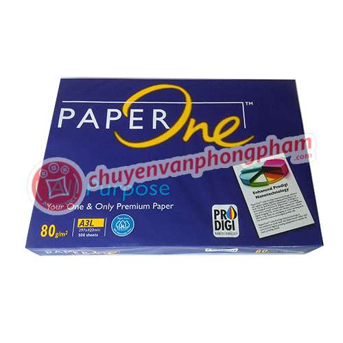 Giấy A3 PaperOne 80 gsm